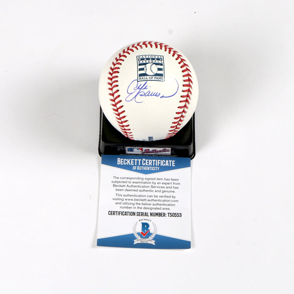 Andre Dawson Signed Rawlings HOF Baseball Chicago Cubs