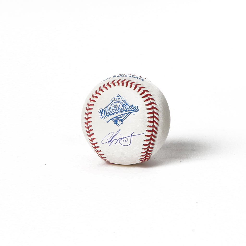 Chipper Jones Signed 1995 World Series Baseball