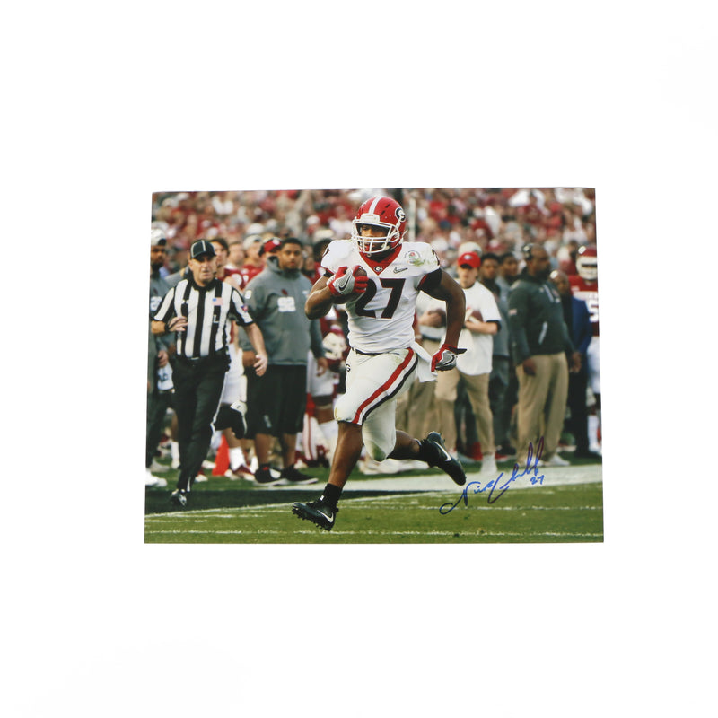 Nick Chubb Signed 11x14 Photo 5