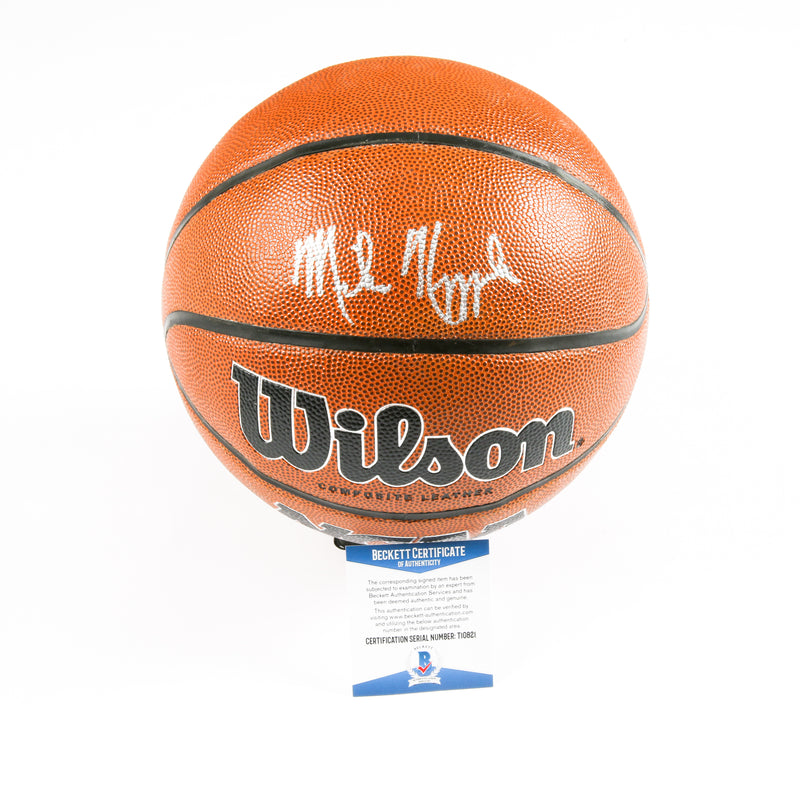 Mike Krzyzewski Signed Basketball Duke Bluedevils