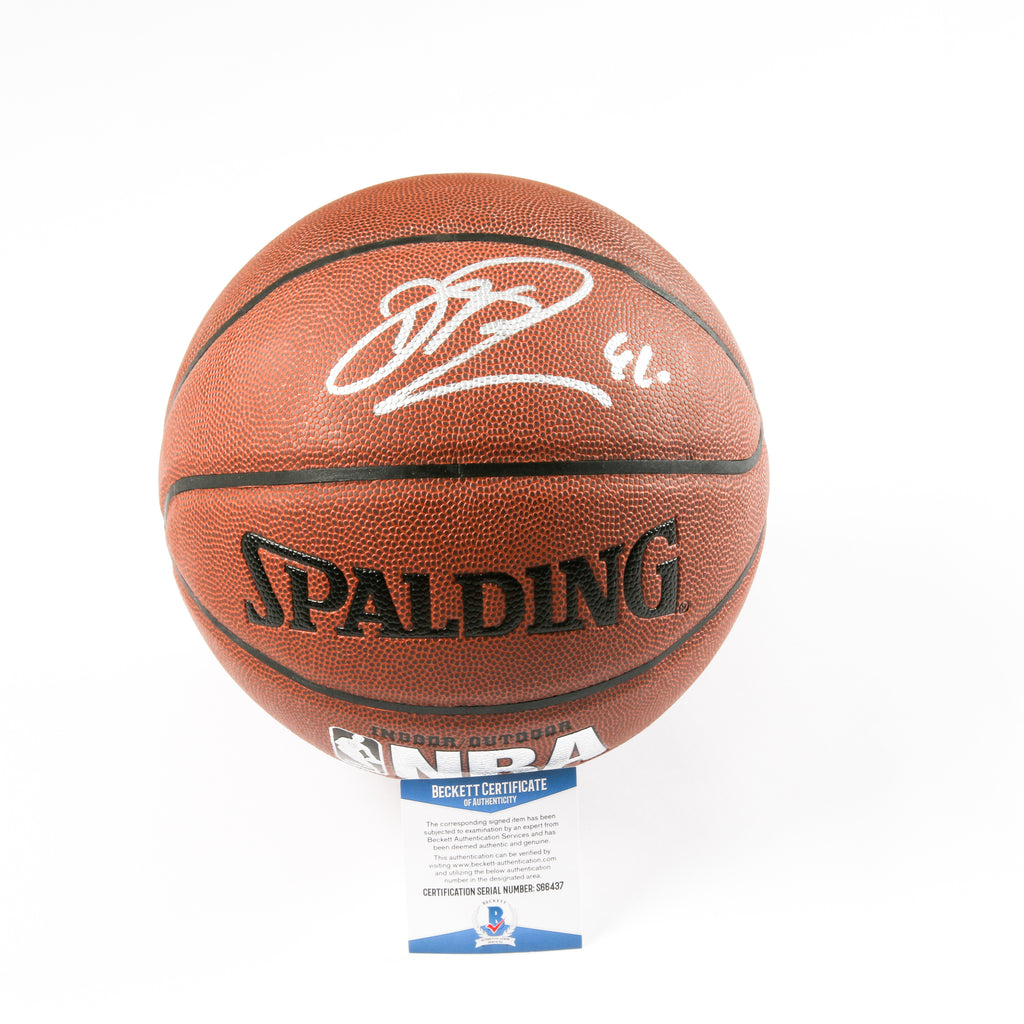 Dirk Nowitzki Signed Basketball Dallas Mavericks