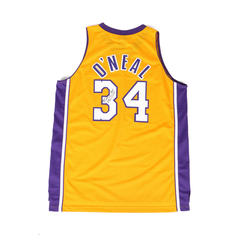 Shaq Signed Los Angelos Lakers Jersey Authentic