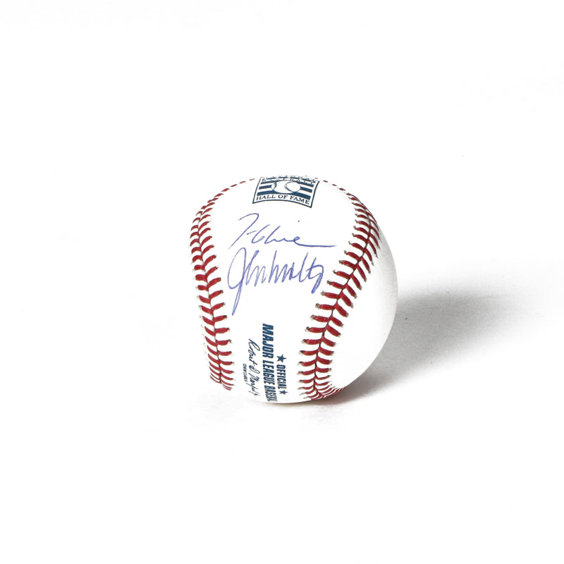 John Smoltz, Tom Glavine Signed Hall of Fame Baseball