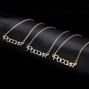 Russian Customized Necklaces
