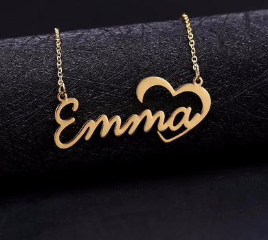 Custom Personalized Name Choker