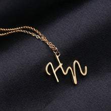 Load image into Gallery viewer, Customize Shorthand Name Necklace