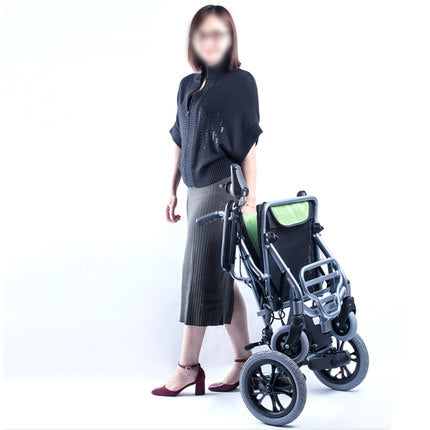 How to Fold/Unfold the Ultra-Lite Motorized Mobility Chair