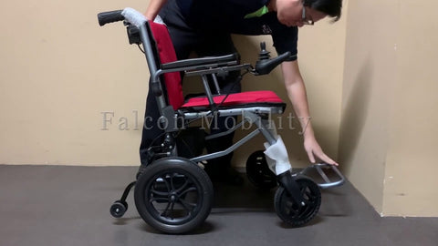 How to Fold & Unfold the Ultra-Lite Electric Wheelchair