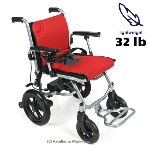 Lithium Battery-Powered Electric Wheelchair