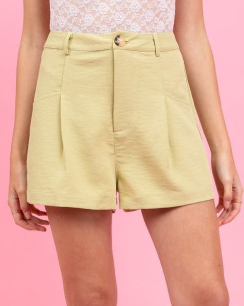 LE LIS - Tailored High-Waisted Shorts