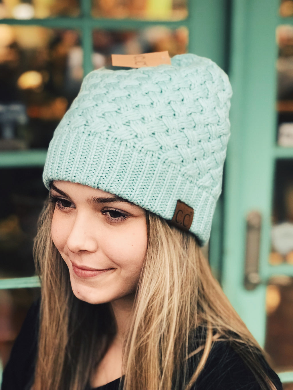 CC -Basket Weaved Beanie