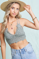 La Miel - Crochet Lace Bralette (3 COLORS)