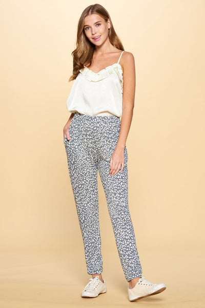ODDI - Leopard Print Super-Soft Joggers (2 COLORS)