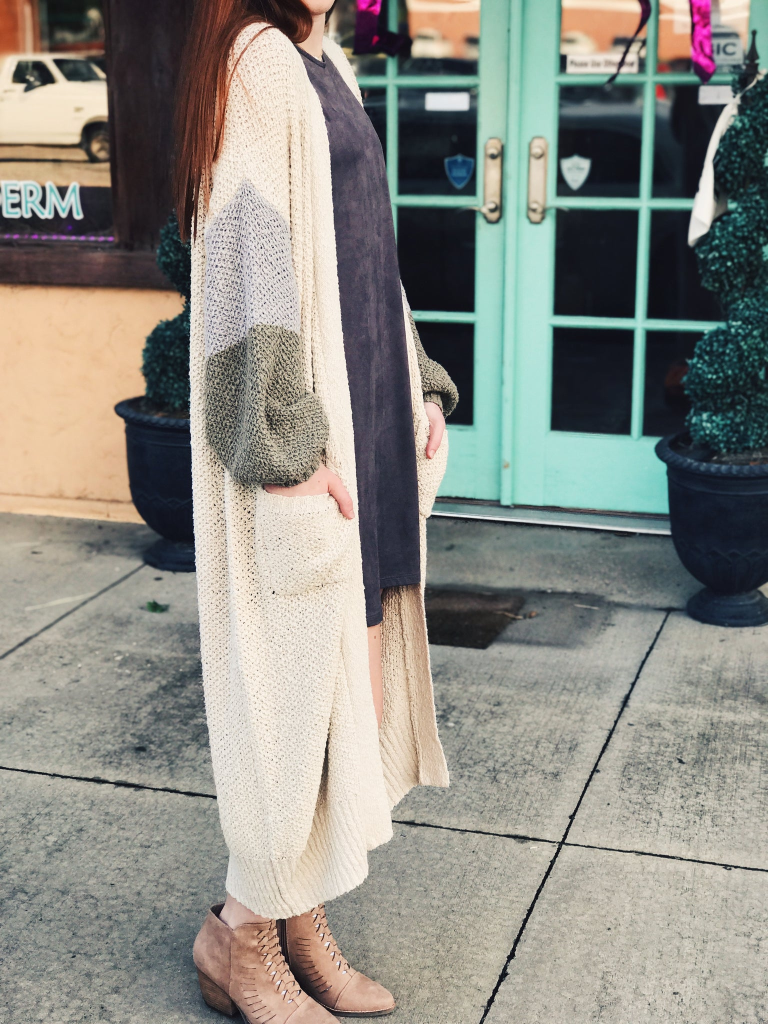 By Together - Knit Long Cardigan