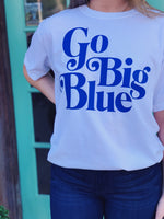 Willow Varsity - Go Big Blue Crew Neck
