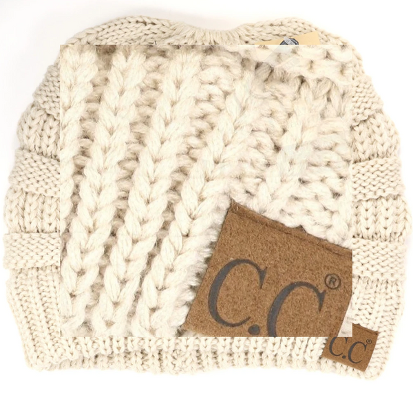 CC - Solid Classic Beanie Tail