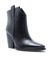 Lets See Style - Black Lizard Western Boot