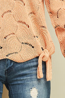 Entro - Open-Weave Summer Sweater (2 COLORS)