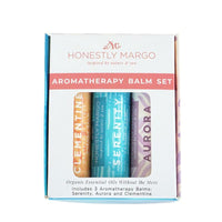 Honestly Margo - Aromatherapy Balm Gift Set