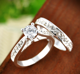 Entwined Twinkling Ring