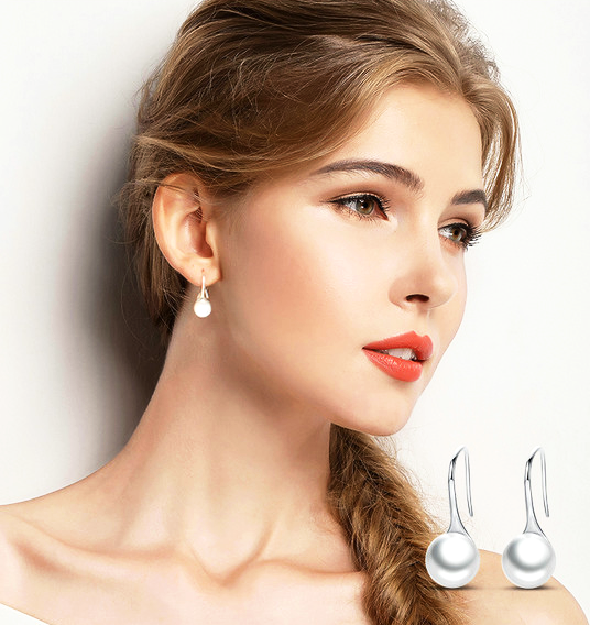 Elegance Galore Drop Earrings