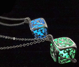 Glowing Tree Lock Necklace