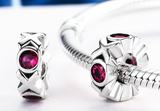 XOXO Moments Love Charm, Ruby CZ