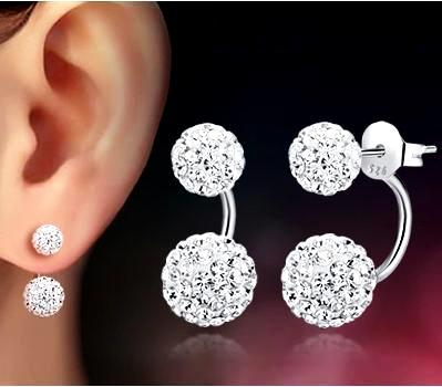 Dazzling Droplet Earrings