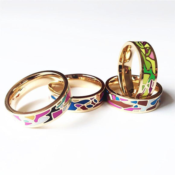 Vibrant Feelings Ring, Mixed Color