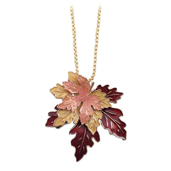 Lucky Maple Leaf Necklace