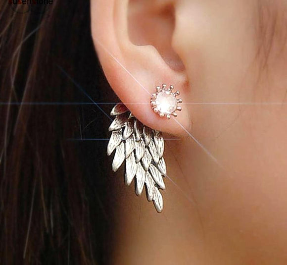 Glistening Angel Wings Earrings