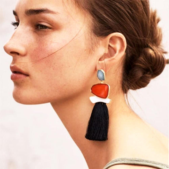 Lush Tassel Earrings