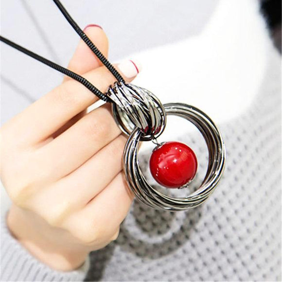 Dangling Cherry Necklace