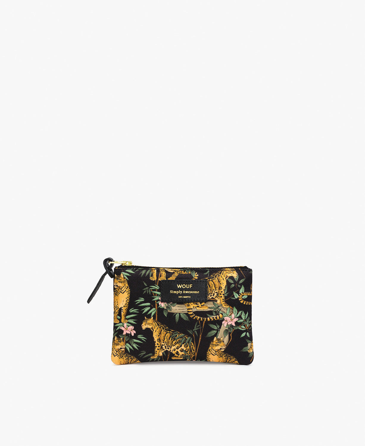 Black Lazy Small Pouch
