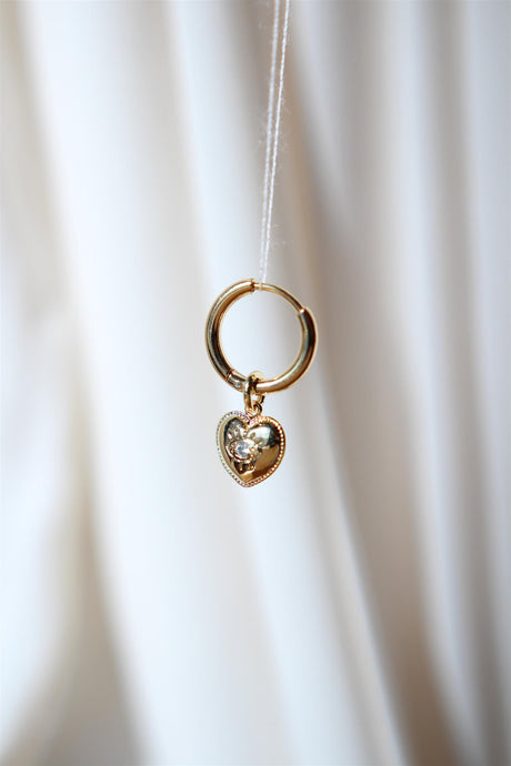 Heart With Sparkly Eye Hoop