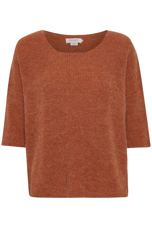 Tuesday Jumper, mocha bisque melange