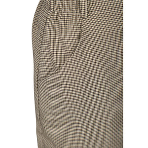 Lay Skirt, houndstooth check