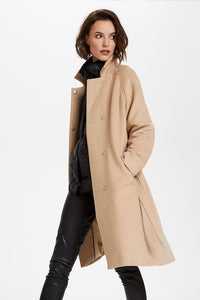 Daniella Coat, light taupe melange