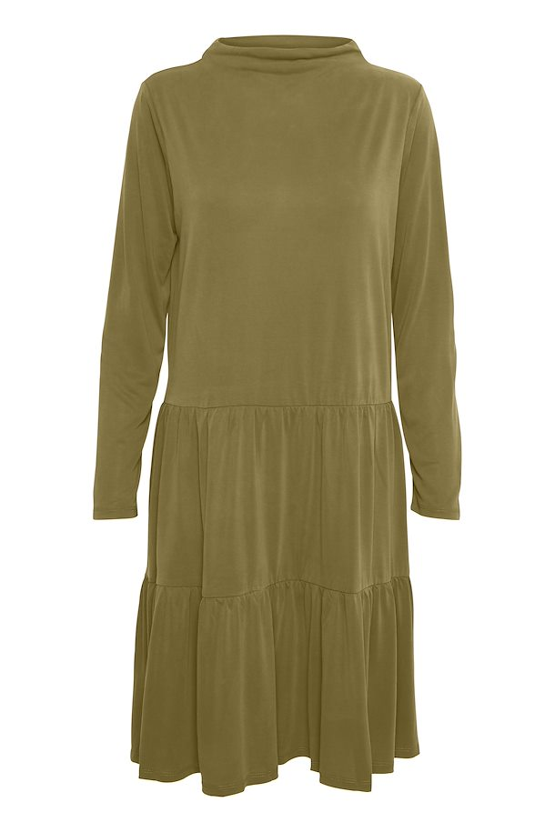 Colissa Dress, military olive
