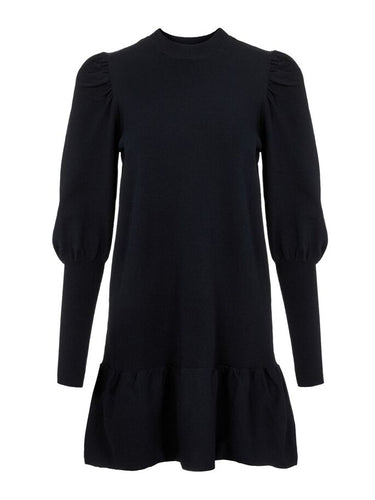 Yasines Knit Dress, black