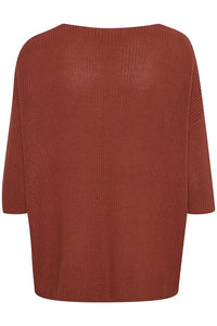 Tuesday Cotton Jumper, barn red
