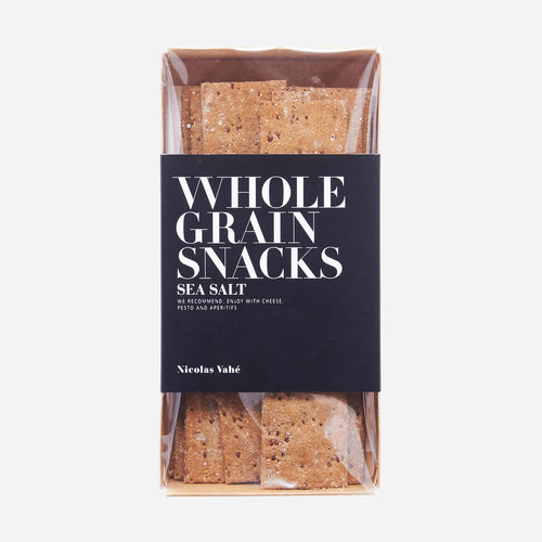 Wholegrain Crackers - sea salt