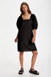 Tauto Dress, black