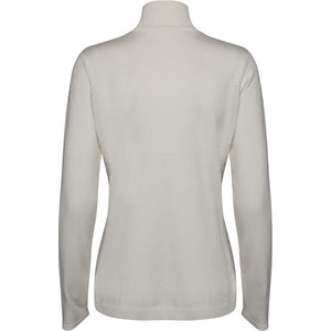 Lana roll neck knit - broken white
