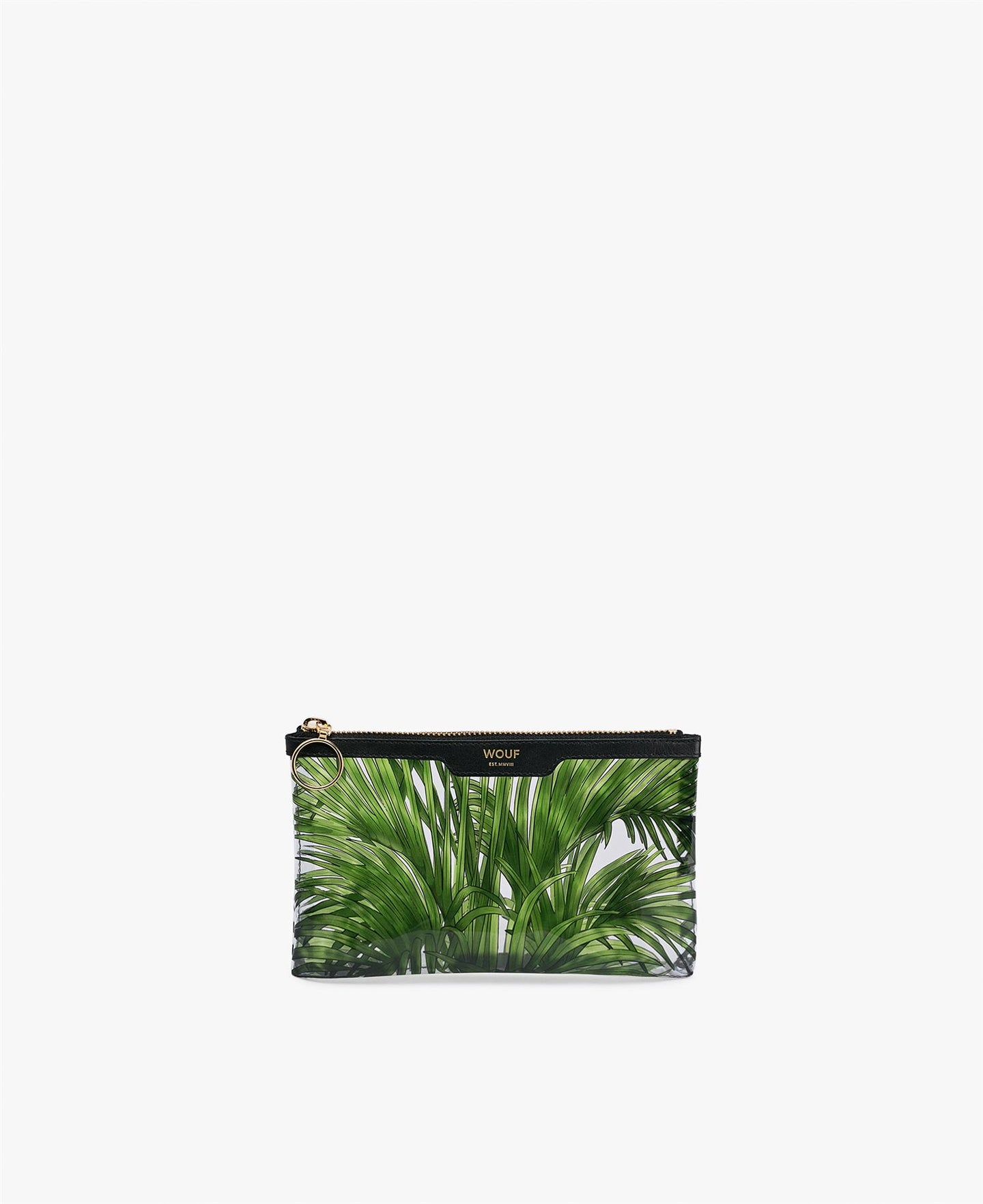 Pocket Clutch, vinyl, tropicana