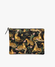 Load image into Gallery viewer, Black Lazy Jungle XL Pouch