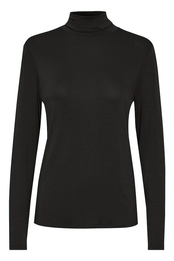 Hanadi rollneck, black