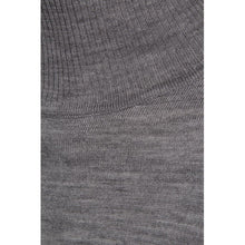 Load image into Gallery viewer, Rose Knit Roll Neck, light grey melange