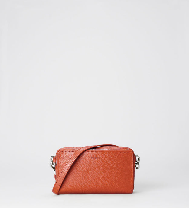 Elise Noted Crossbody, peach