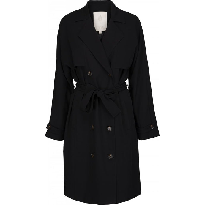 Elvi Trenchcoat, black
